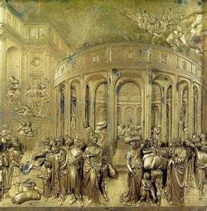 Вторые северные двери баптистерия во Флоренции: Бичевание Христа. 1404-24.